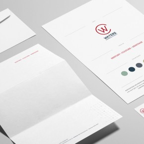 Waters Consultancy Branding + Identity