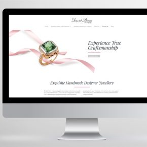 DAVID BENN FINE JEWELLERY :: WEBSITE DESIGN